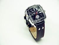 Cámara del reloj de pulsera de moda de cuero impermeable versión nocturna HD 1080P IR cámara oculta espía 8GB 16GB Mini video DVR 204 del reloj digital