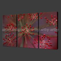 asian flower paintings - Wild Flowers Set Of Three Quality Canvas Picture Wall Art Oil Paintings Asian Art Oils On Canvas For Living Room Office