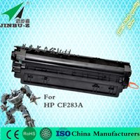 Wholesale DHL For HP CF283A A A Toner Cartridge k Yield for HP LaserJet Pro MFP M127fn M126FN M125 M201 M225 Printer