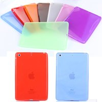 Wholesale For ipad Cases Soft Clear Transparent Back Case Cover Silicone For Apple iPad Air inch Tablet Accessories M2C42D