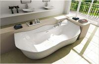 Wholesale 1800 X X MM SANDRA STONE SOLID SURFACE BATH TUB STONE FINISH