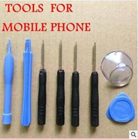 Wholesale 2000set CCA3335 High Quality In REPAIR PRY KIT OPENING TOOL With Point Star Pentalobe Torx Screwdriver For APPLE iphone S Opp Bag