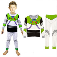 fashion pajamas - cheap clothes for kids good quality soft footie pajamas buzz light year fashion cartoon designs for baby