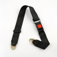 Wholesale Interior Accessories Seat Belts Padding pc Black Car Seat Belt Lap Belt Two Point Adjustable Safety Universal Newest