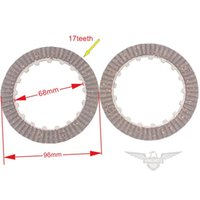 automatic clutch motorcycle - Motorcycle Clutch Disc Plate Set for ATV with Automatic Gears
