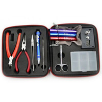Wholesale RDA tool kits Building tool Rebuildable Atomizer RBA Tool Kit with Coil Vapor Master Wrapping Jig Tools
