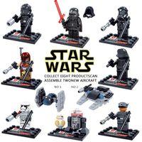 Wholesale SALE star Wars The Force Awakens Moive Kid Baby Toy Mini Figure Building Blocks Sets Model Toys Minifigures Brick
