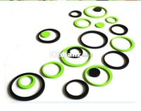Wholesale New Arrive Set color Indoors bathroom home Decoration Circles Creative Stereo Removable D DIY Wall Stickers