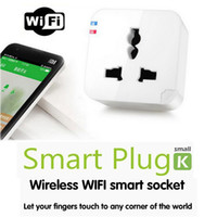 k2 - Kankun K2 Smart Plug WiFi Remote Control Socket Power Adapter Electrical Wireless Switch by Using Smartphone APP Smart House Helper