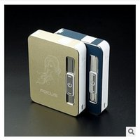 Wholesale Geek cigarette with lighter creative personality with lighter wind Unisex pack laser advertisement