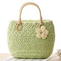 best beach vacations - Best Selling Bags Handbags Women Brands Ladies Vacation Travel Beach Bags Simple Leisure Weave Tote Beach Handbags ZB0581 kevinstyle