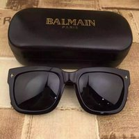 Wholesale 2015 Balmain Designer Black Wayfarer Sunglasses Glasses Eyeglasses Eyewear New with Case Unisex