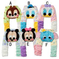 baby plush pants - Autumn Winter New Goods For Toddler PP Pants Cute Plush Cartoon Infant Casual Pants Cotton Comfortable Baby Leggings Age K350