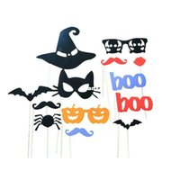 Cheap Funny Product DIY Photo Booth Props Moustaches On A Stick Halloween Party