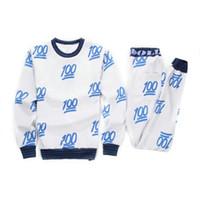 Wholesale 2015 men women s sweatshirt pants clothing set Gym Wear sport jogging suits emoji tracksuits Exercise Fitness Wear S718L