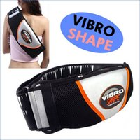 Wholesale Hot Selling Vibro Body Bulding Slimming Massager Belt With Heat Function Sauna Vibrator