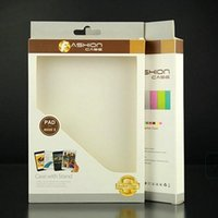 Wholesale 200pcs Paper PVC Retail Package Box for Apple ipad mini Packaging Boxes Packing box Tablet PC Case Cover inch Factory Price