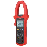 Wholesale UNI T UT233 Auto Range w Positive Reverse Phase Deficiency Phase Sequence Test Digital Three Phase True RMS Power Clamp Meters