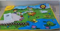 animal playmat - Music Sound Animal Farm Play Playing Mat Toy Carpet Playmat Gym Toy Kids Children Baby Touch Sing