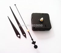 Wholesale Clock Motor Sweep No Tic Fit Up DIY Black Hands Repair Your Clocks Quartz