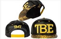 Unisex baseballs outs - Hot sale Tmt TEB Snapback Hats Hip Hop out door Dancing Flat Tbe Baseball Bone cap for Men Women Freepshipping