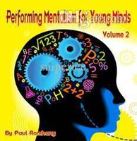 Wholesale Paul Romhany Performing Mentalism For Young Minds Vol no gimmicks magic trick fast delivery paypal accept
