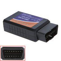 Wholesale Universal Super Mini WIFI ELM ELM327 OBD II Car Diagnostic Tool Interface Scanner OBD2 WIFI Auto Scan Tool