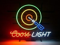 dartboard light - Coors Light Dartboard Classic Neon Sign handicraft Real Glass Tube store display beer bar pub light x14 quot