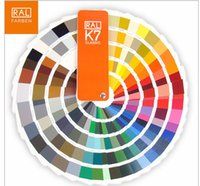 Wholesale Absolutely genuine Germany RAL International standard color card raul K7 Paint coatings color card