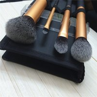 Wholesale Wholesales fast shipping High quality Original Quality packages Real RTech niquesw Makeup Brush Set Kit Core Collection Gold Brushes