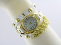 dgh - Tyrant gold full diamond ring winding watch chain tassel three women watch DGH Watch