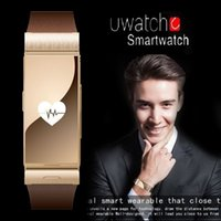 apple compatible speakers - SY new Two in one U watch U mini Bluetooth headset smart watch MTK2502D MHz Speaker smartwatch For IOS Android smartphone