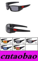Cheap Free shipping Men Brand sunglasses sports black frame Gray lens Sport sunglass Goggle Sunglasses-FAST SHIP