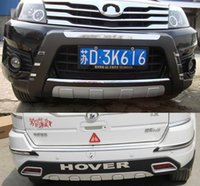 Wholesale High quality plastic ABS Chrome Front Rear bumper cover trim For Great Wall Haval Hover H3 L