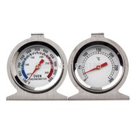 Wholesale 30pcs Food Dial Oven Thermometer Stand Up Meat Temperature Gauge Gage FreeShipping