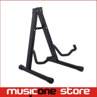 Wholesale Black Guitar A Shape Stand from Beta High Quality Folding Rack for Folk Classical Electric Guitar Bass MU0299