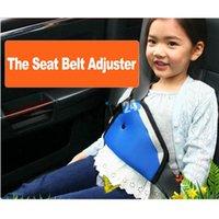 Wholesale Safe Fit Thickening Car Safety Belt Adjust Device Baby Child Safety Belt Protector Seat Belt Positioner