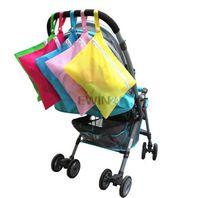 Wholesale Hot Selling Baby Waterproof Dirty Cloth Diaper Nappy Stroller Pram Storage Organizer Zip Bag