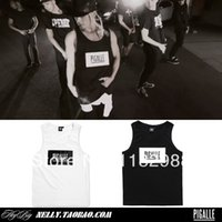 bboy clothing - Fall new high quality Pigalle ap a rocky hba pyrex pure cotton vest men s clothing bboy hip hop dance sports basketball vest