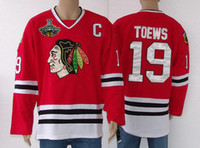 Ice Hockey hockey jerseys - Jonathan Toews Hockey Jerseys Blackhawks Jerseys With Stanley Cup Champion Patches Hockey Wears Professional Hockey Apparel
