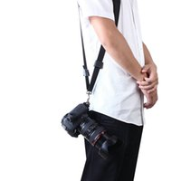 Wholesale New Quick Rapid Camera Single Shoulder Sling Black Belt Strap for SLR DSLR