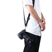Wholesale New Quick Rapid Camera Single Shoulder Sling Black Belt Strap for SLR DSLR