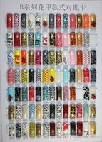 artificial nail tips - Choose Newest nail tips style artificial nails Half nails AIRBRUSH Acrylic FRENCH Pre Design
