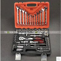 Wholesale of tools socket set socket wrench socket wrench kit aftermarket Wrench Set