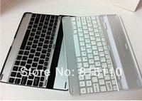 Wholesale 30Pcs Sets Wireless Keyboard Bluetooth Smart Case For iPad capacitive Touch Pen Stylus Screen protector film