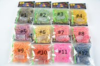 Cheap 0-12M dual layer with gold glitter Bands Best Multicolor Rubber Rainbow Loom