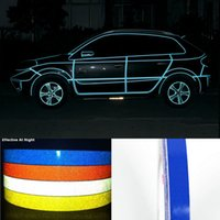 Wholesale Newest cmX ft meters Motorcycle m Reflective Tape Car Sticker