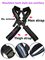 Cheap Stand and Deliver Bondage Set Sex Position Body Sling Fixed Posture Sex Toys For Couples Swing Belt Toys Adult Furniture Nylon Bondage