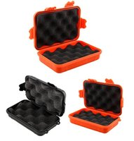 airtight cases - Brand New Outdoor Shockproof Waterproof Airtight Survival Case Container Storage Carry Box Colors