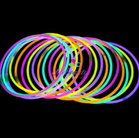 Wholesale Assorted Colors Glowsticks LED Necklace Flashing Light Up Necklaces Glowsticks LumiStick Hot Sale